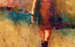 "Rosie Coleman, ""On the Move II"""