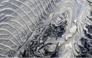 "Ginger Goekjian, ""Untitled (sand series)"""
