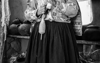 "Gerald Alderman, ""Spinning Thread - Cusco, Peru"""
