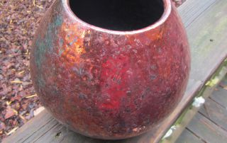"Louise Robertson, ""Copper Raku"""