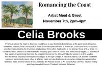 Romancing the Coast: Artist Meet & Greet-Celia Brooks
